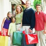 De compras con tu familia