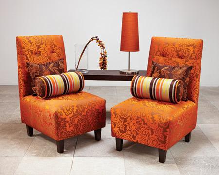 Telas que renuevan toque de mujer - Telas para tapizados de muebles ...