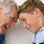 Una relación sana entre abuelos y nietos