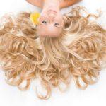 Para una cabellera ultra brillante