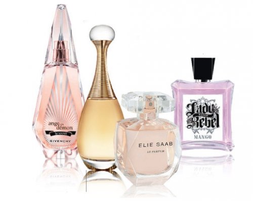 perfumes florales citricos