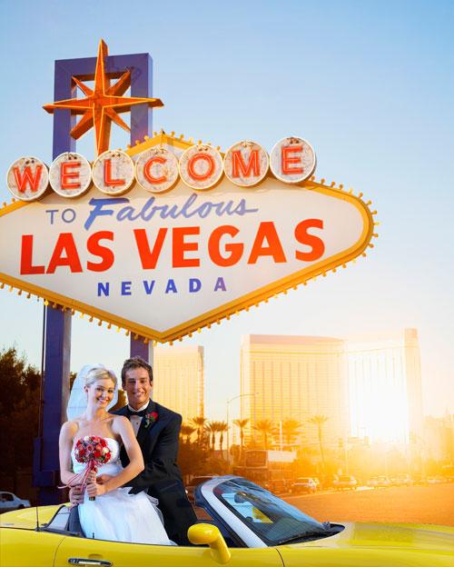¡Organiza tu boda en Las Vegas!
