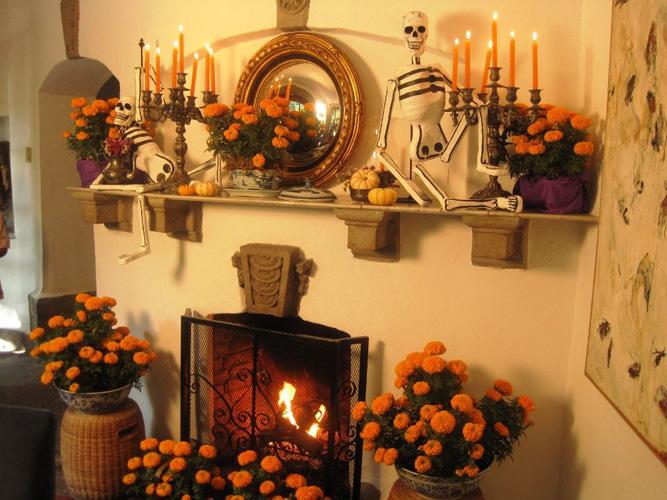 Decora tu casa para el d a de muertos - Casa al dia decoracion ...