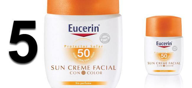 maquillaje y protector solar