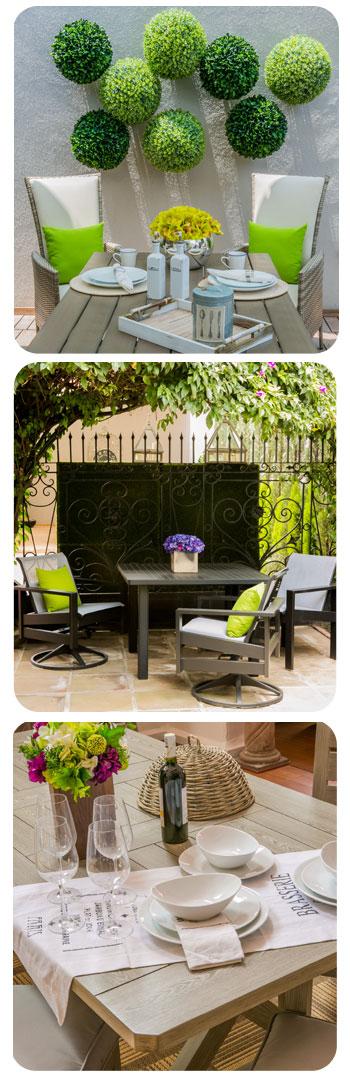 Encuentra el perfecto mobiliario para jard n for Mobiliario para el jardin