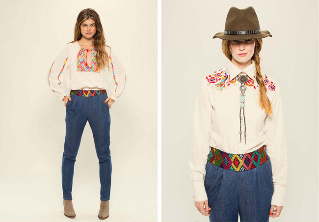 Outfit vaquero de mujer