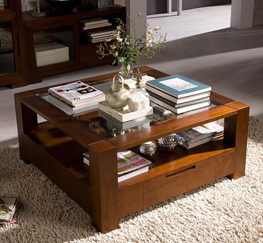 Decoraci n de las mesas de centro - Mesa de libro para salon ...