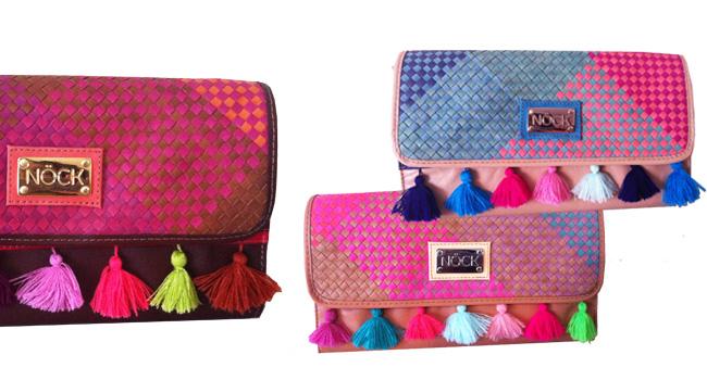 Regala a tus amigas uno de los increíbles bolsos artesanales tipo clutch que ha diseñado la marca mexicana NÖCK nock.bigcartel.com