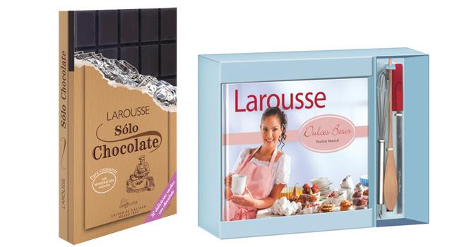 Consiente a tu mamá o a tus amigas amantes de la repostería, con uno de los libros que LAROUSSE tiene para esta dulce fecha www.larousse.com.mx