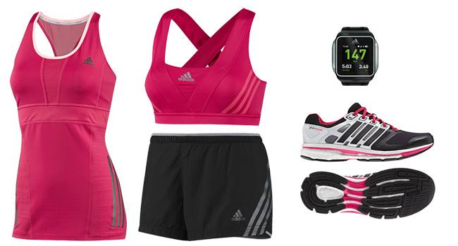 Consigue una figura espectacular haciendo ejercicio y qué mejor que con un súper outfit deportivo de ADIDAS www.adidas.mx/Mexico