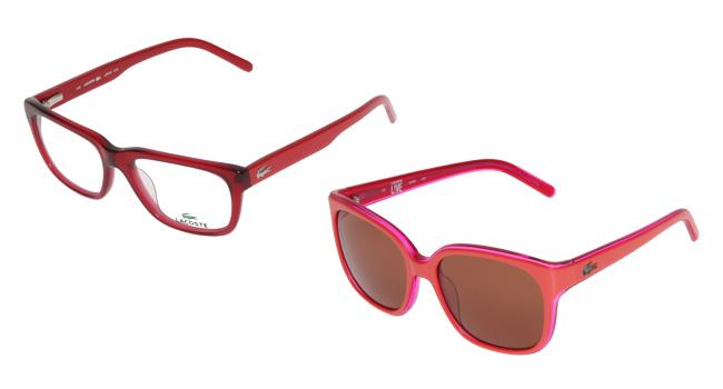 Lleva contigo el tono del amor y que lúcelo perfecto en tu mirada, regalándote o regalando uno de los lentes que tiene LACOSTE para PRIVALIA www.privalia.com/Mexico