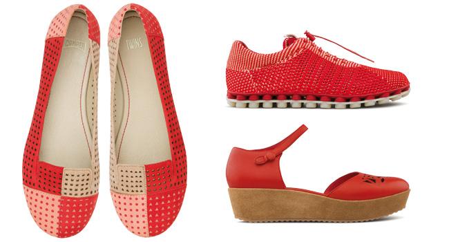 Lleva el color del amor en cada paso con los Zapatos CAMPER www.camper.com/es