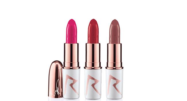 Consigue unos labios irresistibles para San Valentín con los lipsticks de RiRi Holiday para M•A•C www.maccosmetics.com.mx