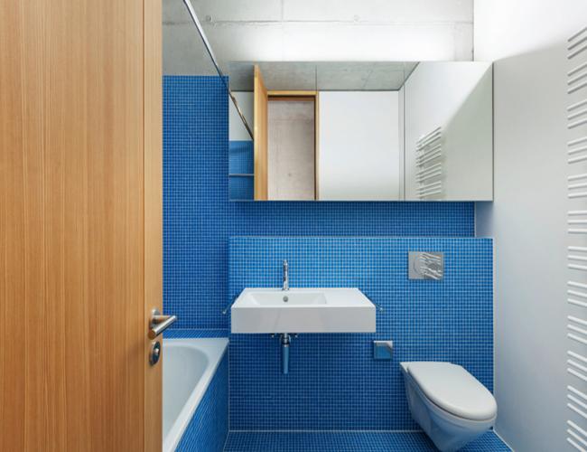 Baño Azul Con Blanco: de los colores en la decoración de tu casa: baño blanco y azul