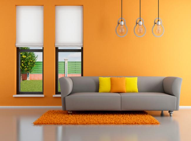 Efecto de los colores en la decoraci n de tu casa sala for Adornos de sala de casa