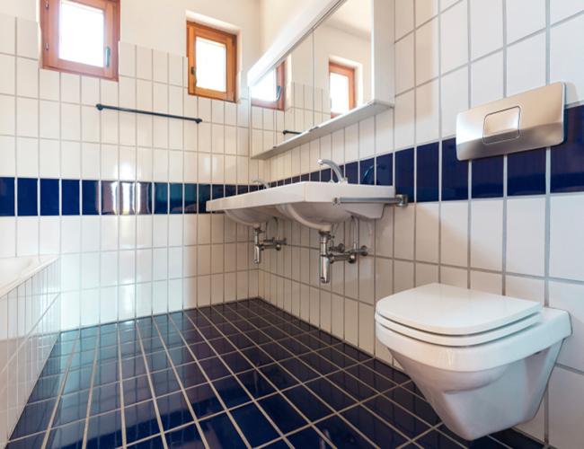 Decoracion Baño Azul: de los colores en la decoración de tu casa: baño blanco y azul