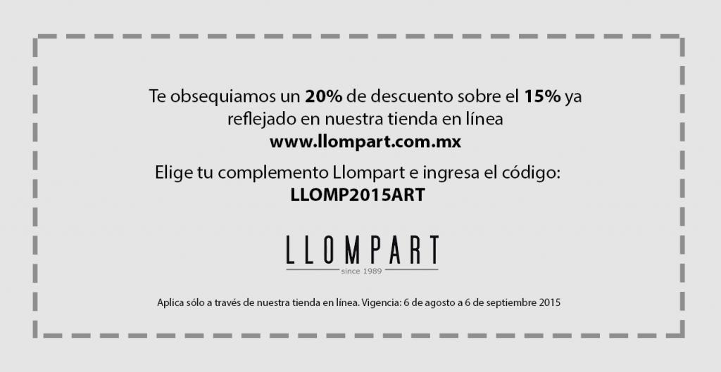 2 cupon de obsequio Llompart