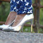 Metalic look! de Andrea, La tendencia de los zapatos metálicos