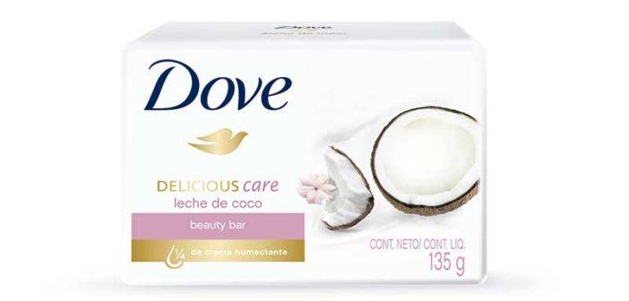 Las propiedades de la leche de coco ahora en un jabón de barra