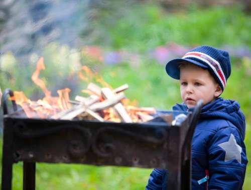 quemaduras en los niños