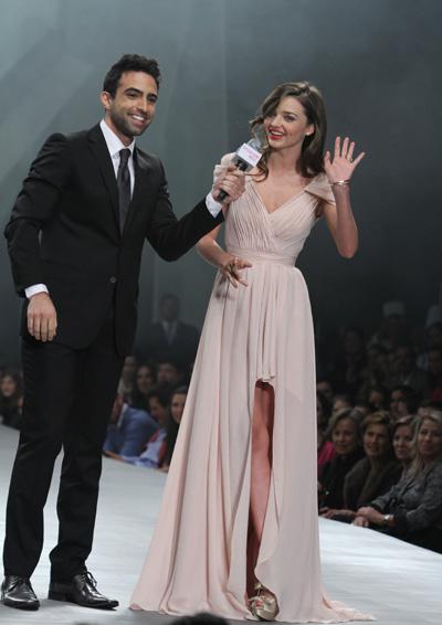 Miranda Kerr en el Fashion Fest.