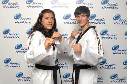 Rosario Espinoza y Alfonso Victoria.
