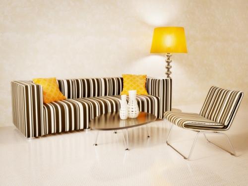 Audaces rayas en la decoración de tu hogar