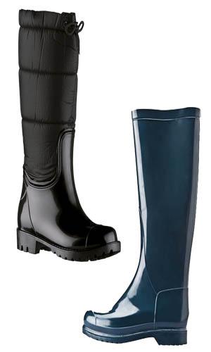 botas de plastico para lluvia