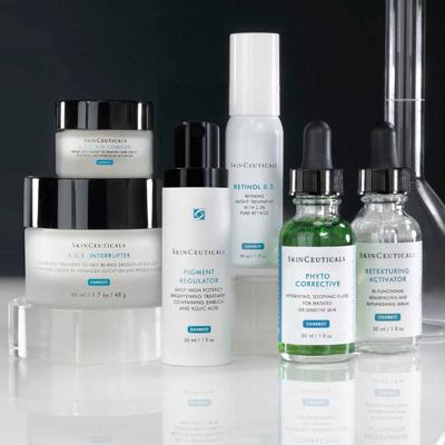 Algunos productos de SkinCeuticals