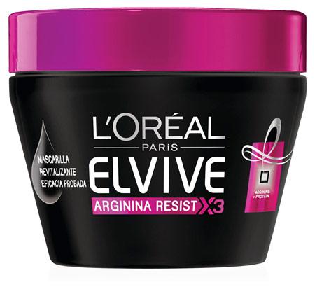 mascarillas para reparar tu cabello - Elvive Arginina Resist de L'ORÉAL