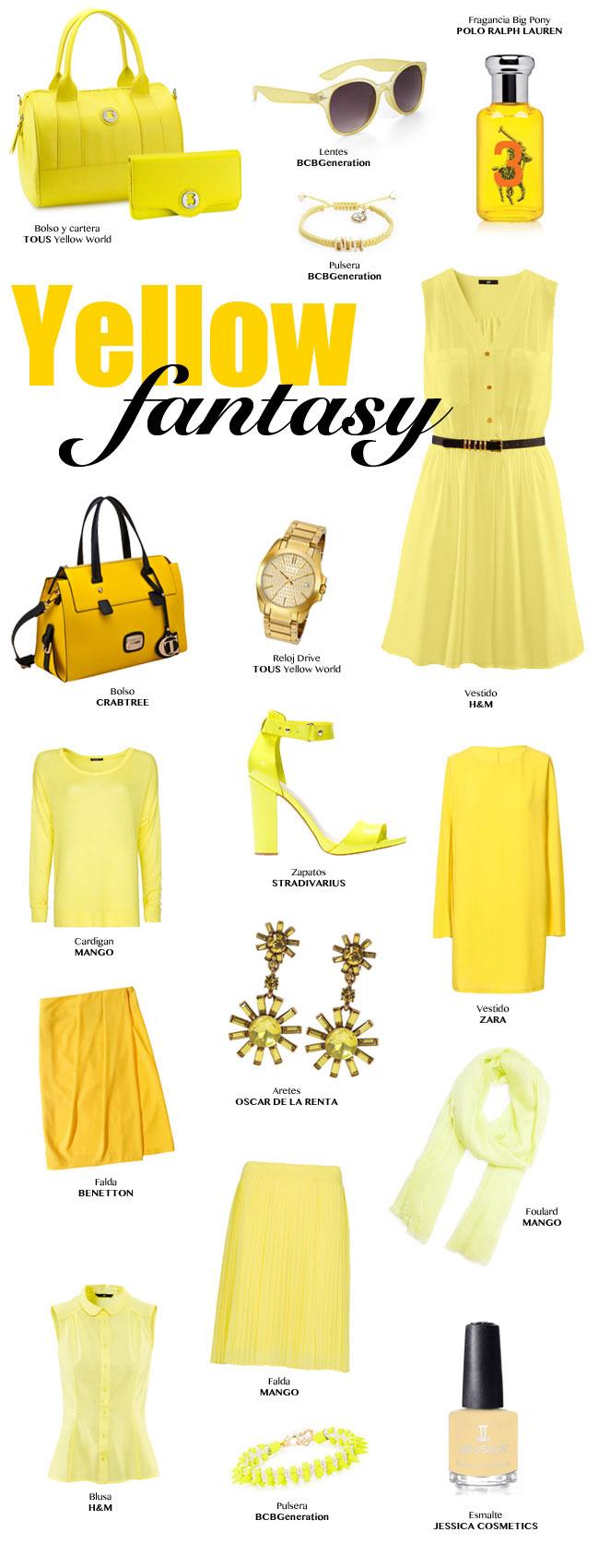 El outfit amarillo perfecto para esta primavera