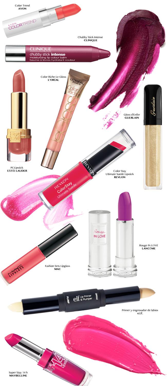 Los 10 lipsticks más hot para esta primavera