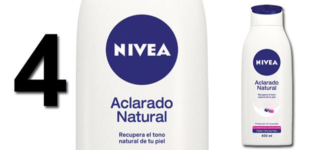 Aclarado Natural de NIVEA