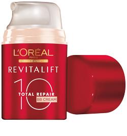 revitalift total re- pair 10 BB cream, de L'oréal Paris.
