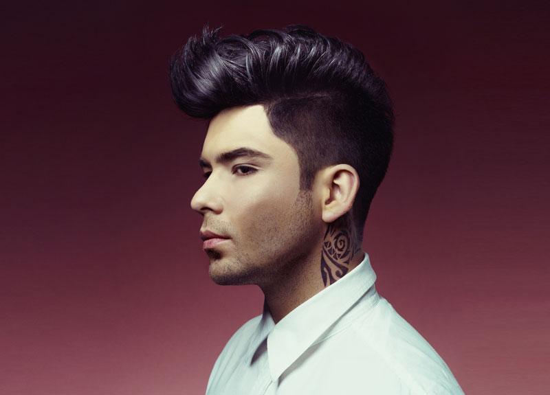 Corte de cabello moderno para hombres