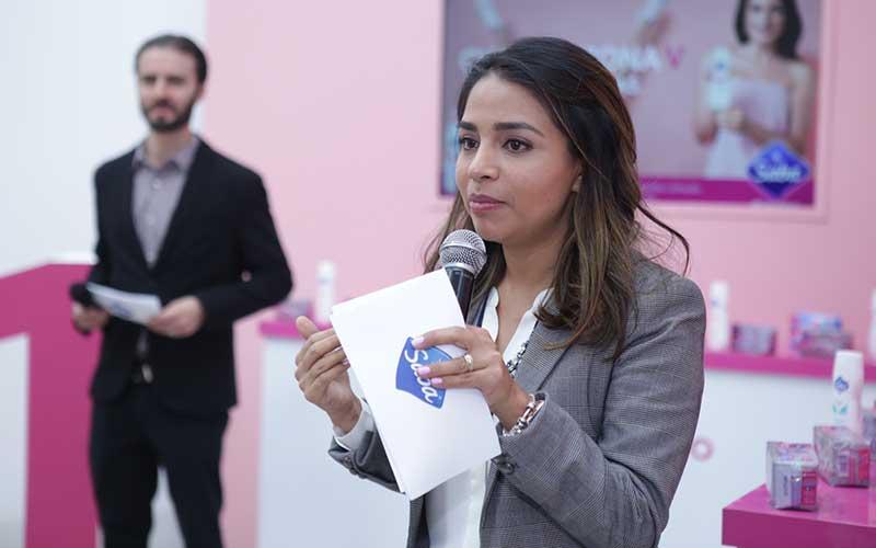Liliana Oropeza, ginecóloga asesora de Saba