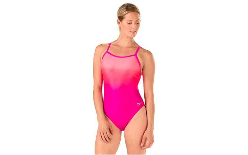 trajes de baño rosa Speedo