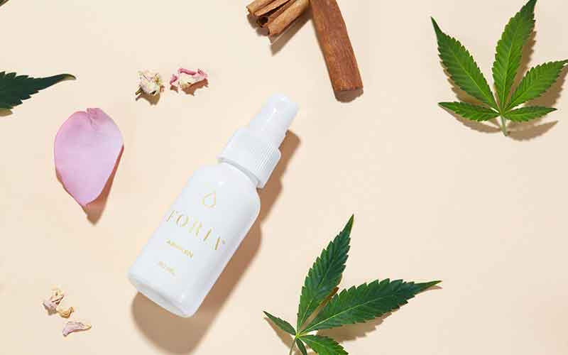 Foria lubricante intimo a base de cannabinoides
