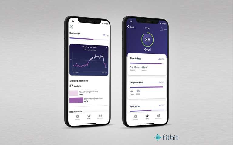 Fitbit monitorea tu sueño