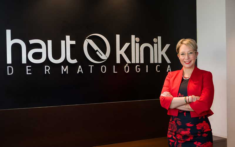 Dra. Ingrid López Gehrke, Haut klinik