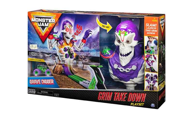 Monster Jam Grim Takedown