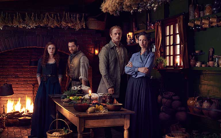 """17 de febrero estreno de la qunta temporada de """"Outlander"""""""