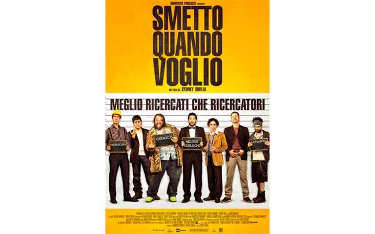 Smetto Quando Voglio – Masterclass. Director: Sidney Sibilia
