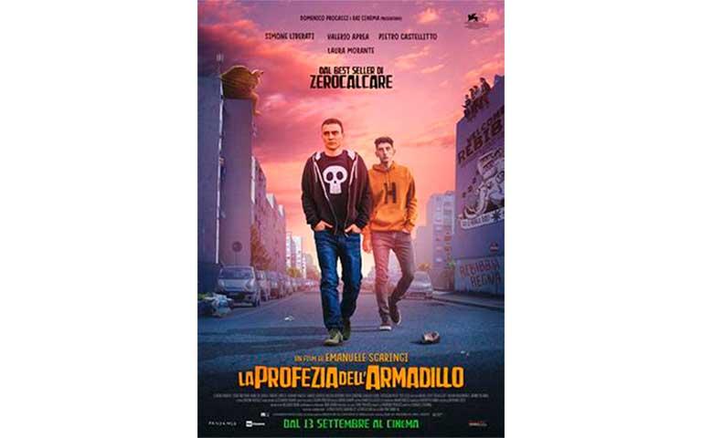 La Profezia Dell'armadillo. Director: Emanuele Scaringi