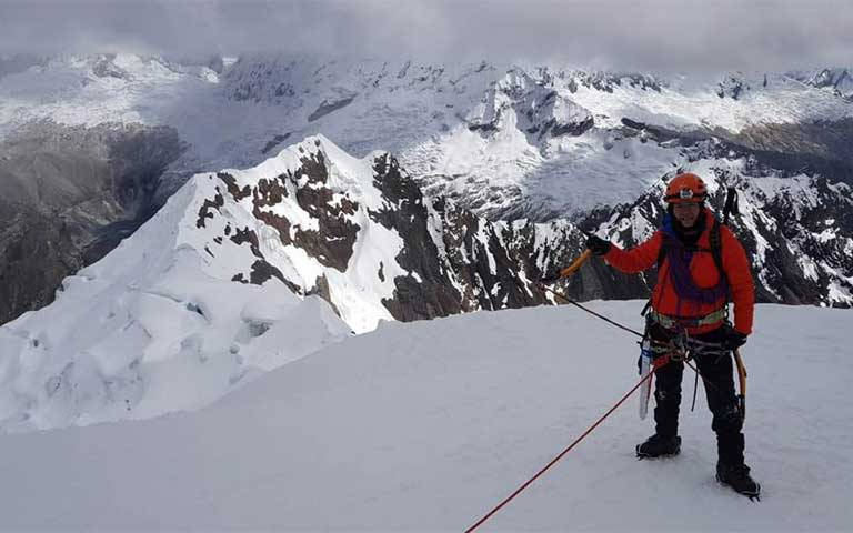Sol Castro, Mujer mexicana alpinista