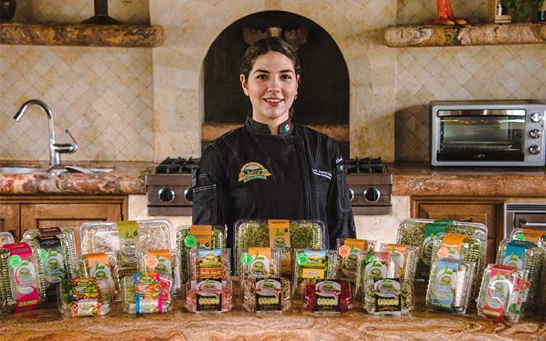 Sofía Tirado, Chef y Vocera de Cultivos Naturales San Francisco.