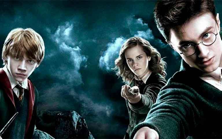 todas las películas de Harry Potter